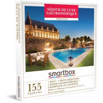 Smartbox Séjour de luxe gastronomique