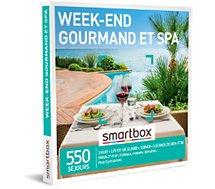 Coffret cadeau Smartbox  Week-end gourmand et spa
