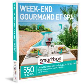 Smartbox Week-end gourmand et spa