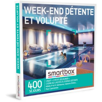 Smartbox Week-end détente et volupté