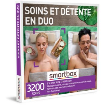 Smartbox Soins et détente en duo