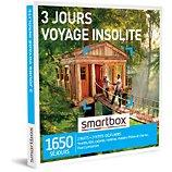 Coffret cadeau Smartbox 3 jours voyage insolite