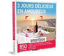 Coffret cadeau Smartbox  3 jours délicieux en amoureux