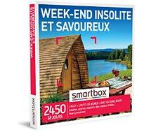 Coffret cadeau Smartbox  Week-end insolite et savoureux