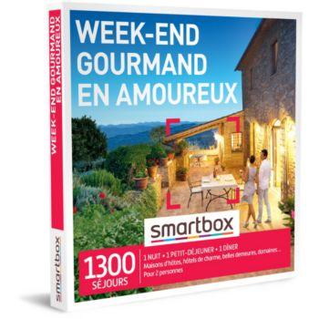 Smartbox Week-end gourmand en amoureux