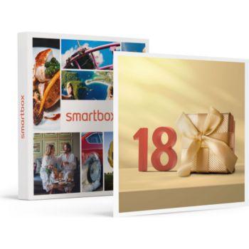 Smartbox Joyeux anniversaire ! 18 ans