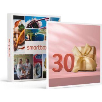 Smartbox Joyeux anniversaire ! Pour femme 30 ans