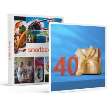 Smartbox Joyeux anniversaire ! Pour homme 40 ans
