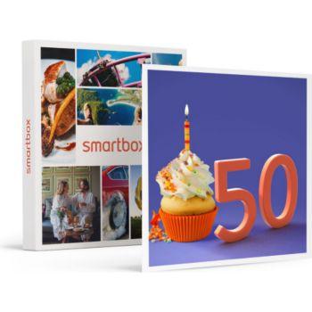 Smartbox Joyeux Anniversaire Pour Homme 50 Ans Coffret Carte Cadeau Boulanger