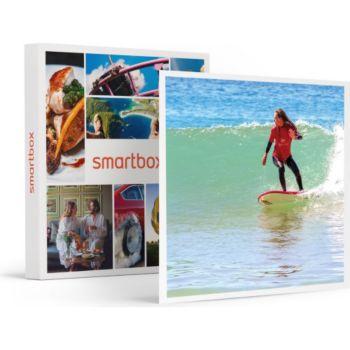 Smartbox Cours de surf avec location de planche à