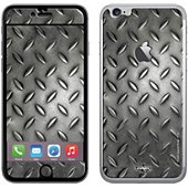 Sticker iPhone 6+ Grille métallique