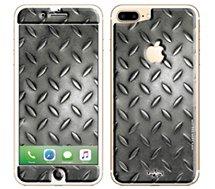 Sticker  iPhone 7+ Grille métallique