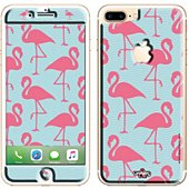 Sticker iPhone  7+ Flamand rose