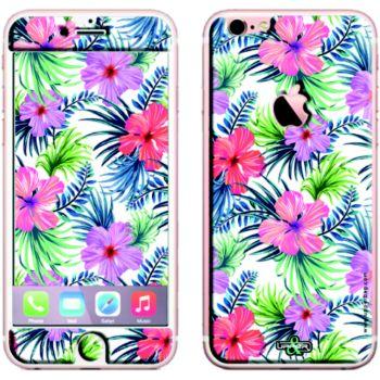 iPhone 6/6S Fleurs fluo