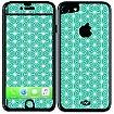 Sticker iPhone 7  Turquoise géométrique