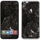 Sticker  iPhone 6+ Marbre noir