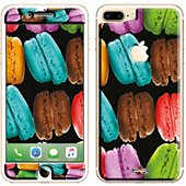 Sticker iPhone 7+ Macarons
