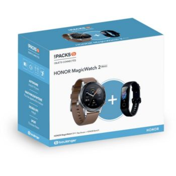 Honor Pack MagicWatch 2 Marron 46mm+Band 5