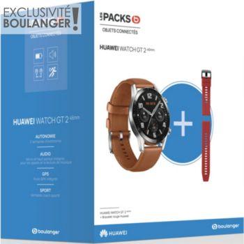 Huawei Pack Watch GT 2 Marron 46mm+Bracelet