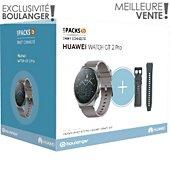 Montre connectée Huawei Pack Watch GT 2 Pro + Bracelet noir