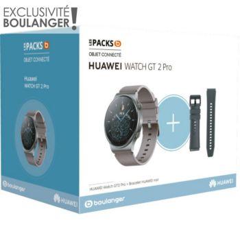 Huawei Pack Watch GT 2 Pro + Bracelet noir
