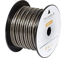 Câble enceinte Triangle  OPERA - Bobine de 10M