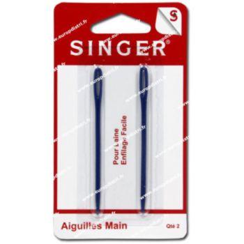 Singer Aiguilles à laine en plastique