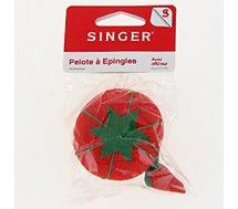 Pelote Singer  Pelote à épingles ( tomate avec affûtage