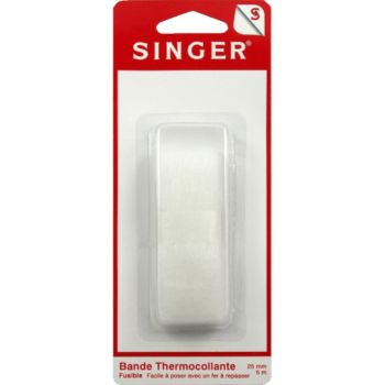 Singer Bande thermocollante pour ourlets 25mm l