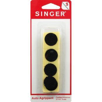 Singer Pastilles adhésives noires 20mm