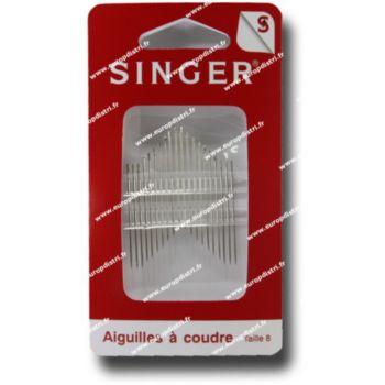Singer Aiguilles à coudre n°8