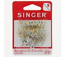 Epingle Singer  Epingles de sécurité nickelées et laiton