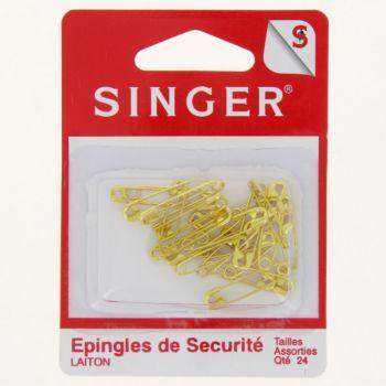 Singer Epingles laiton assorties