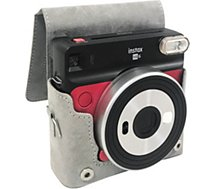 Appareil photo Instantané Fujifilm  Pack Instax SQ6 rouge + housse + film