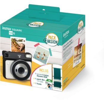 Fujifilm Pack Instax SQ6 Blanc