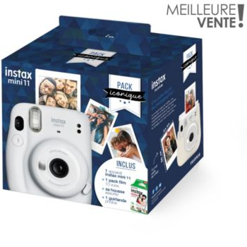 Fujifilm Pack Instax Mini 11 Blanc Iconique