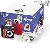 Appareil photo Instantané Fujifilm Pack Instax SQ6 Ruby Red