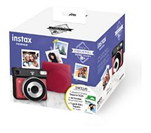 Appareil photo Instantané Fujifilm  Pack Instax SQ6 Ruby Red