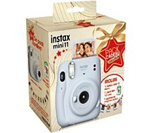 Appareil photo Instantané Fujifilm  Pack Instax Mini 11 Ice White