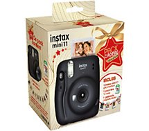 Appareil photo Instantané Fujifilm  Pack Instax Mini 11 Charcoal Grey