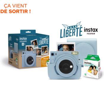 Fujifilm Pack Liberte INSTAX Square SQ1 Bleu