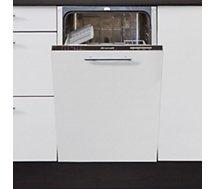 Lave vaisselle tout intégrable 45 cm Brandt  VS1010J