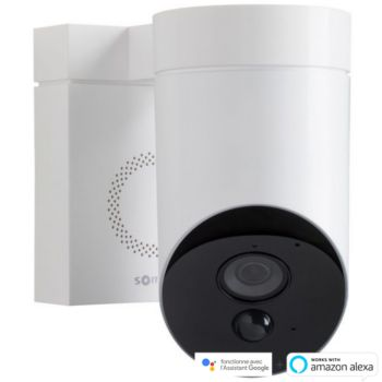 Somfy Protect Outdoor Camera blanche