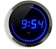 Horloge Orium Horloge LED bleue 30 cm