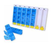 Pilulier Hestec  Pilulier hebdo 4 compartiments