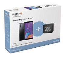 Smartphone Samsung Pack A7 + Enceinte JBL GO 2