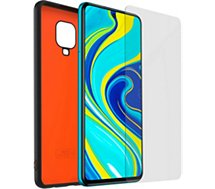 Pack Xiaomi  Note 9 Pro Coque + Verre trempé