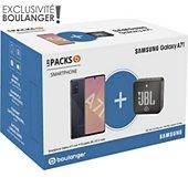Smartphone Samsung Pack A71 + Enceinte JBL GO 2