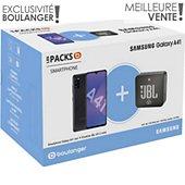 Smartphone Samsung Pack A41 + Enceinte JBL GO 2