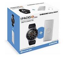 Montre connectée Samsung  Pack Galaxy Watch 46mm+Powerbank